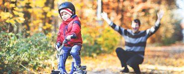 Kako otroka naučiti voziti kolo