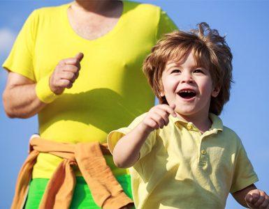 Kako otroka navdušiti za tek